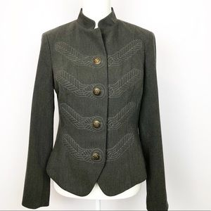 CAbi Jackets & Coats - Embroidered CAbi Jacket Conductor Military Style H
